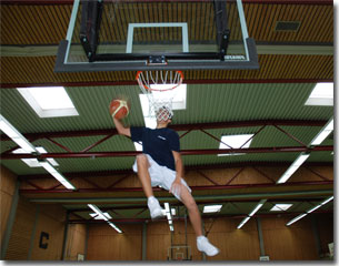 Basketballcamps Sprungkraft Dunking