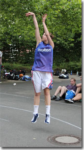 Basketballcamps Outdoor Basketball